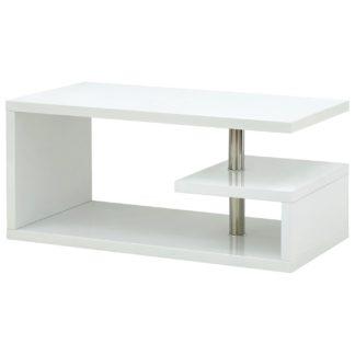 An Image of Polar Coffee Table - White Gloss