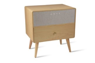 An Image of Koble Ralph Wireless Charging Bluetooth Side Table - Natural