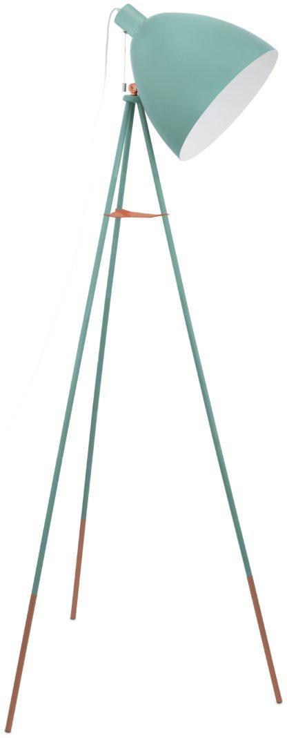 An Image of Eglo Carlton Vintage Floor Lamp - Mint.