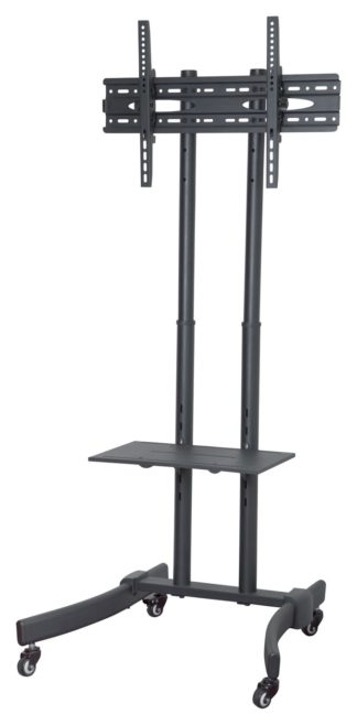 An Image of Proper AV Portable TV Trolley Stand Up to 65 Inch