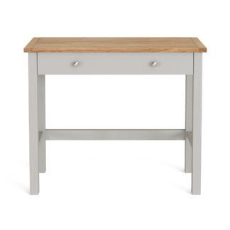 An Image of Bromley Grey Desk Grey