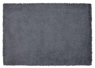 An Image of Argos Home Cosy Rug 120x170 - Flint Grey