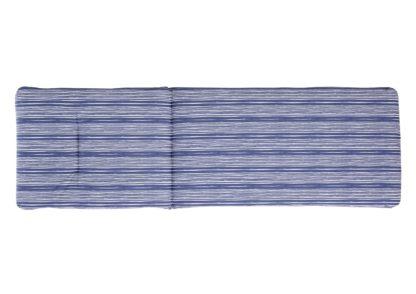 An Image of Argos Home Sun Lounger Cushion - Coastal Stripe