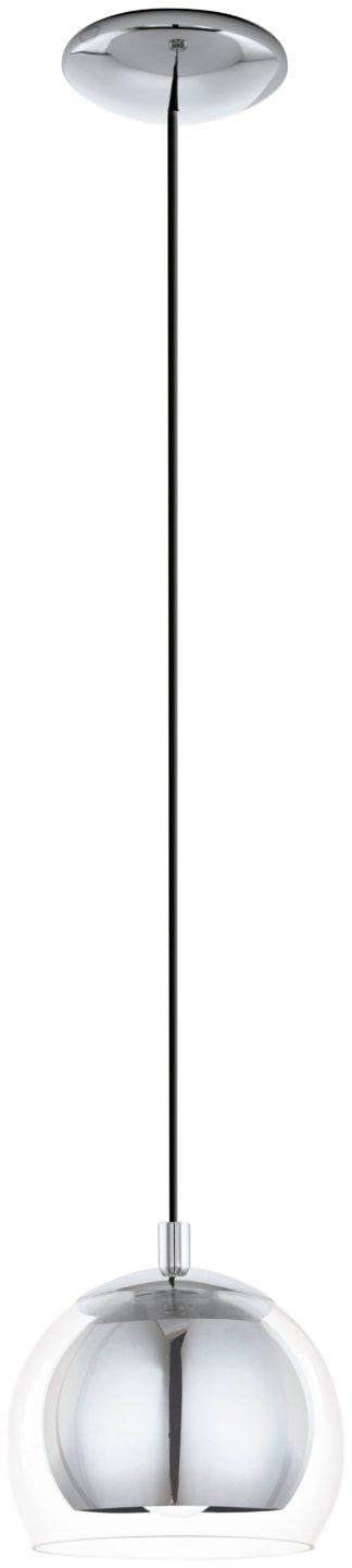 An Image of Eglo Rocamar Pendant Light - Chrome