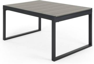 An Image of Catania Garden Extending Dining Table, Grey and Polywood