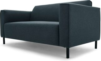 An Image of Herron 2 Seater Sofa, Aegean Blue