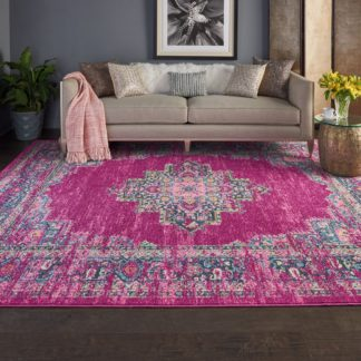 An Image of Fuchsia Passion 2 Rug Pink