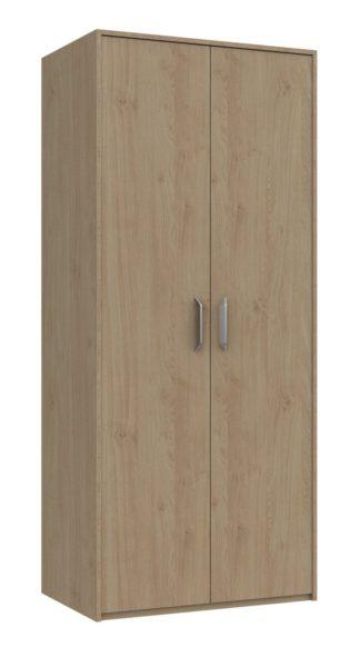 An Image of Ashdown 2 Door Wardrobe - Oak Effect