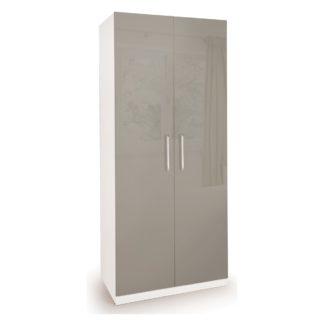 An Image of Bayswater 2 Door Wardrobe White