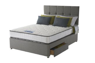 An Image of Sealy 1400 Pocket Microquilt 2 Drawer Superking Divan
