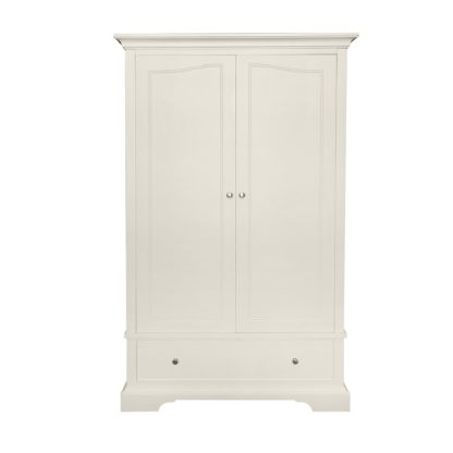 An Image of Charlotte Gents Wardrobe White