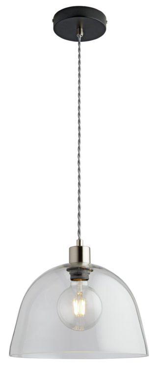 An Image of Argos Home Kanso Glass Pendant Light