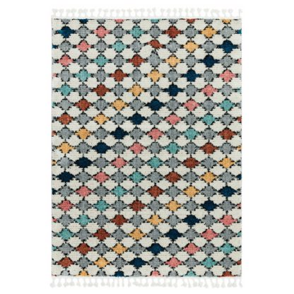 An Image of Asiatic Cyrus Moroccan Shaggy Rectangle Rug - 120x170cm