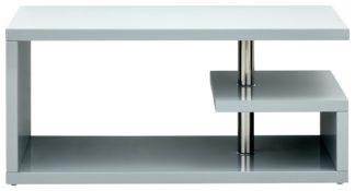An Image of Polar Coffee Table - Grey Gloss