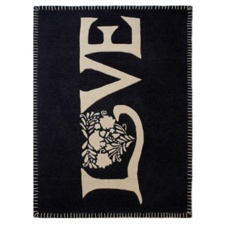 An Image of Love Rug Charcoal