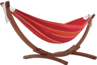 An Image of Vivere Solid Wood Hammock - Mimosa