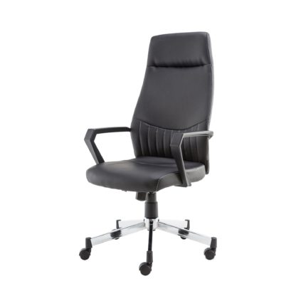 An Image of Brooklyn High Back Office Chair Black