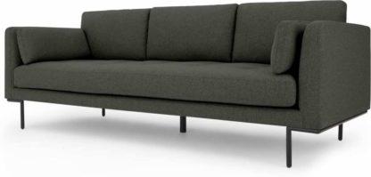 An Image of Harlow 3 Seater Sofa, Hudson Grey