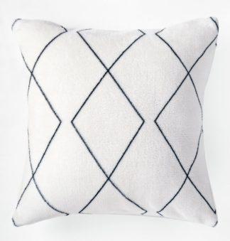 An Image of Argos Home Fleece Berber Cushion