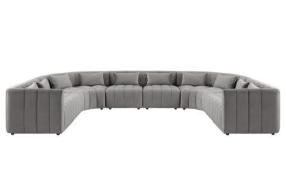 An Image of Essen Super Lounge Suite – Dove Grey