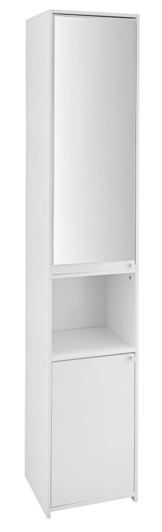 An Image of Argos Home Prime Mirrored Tallboy