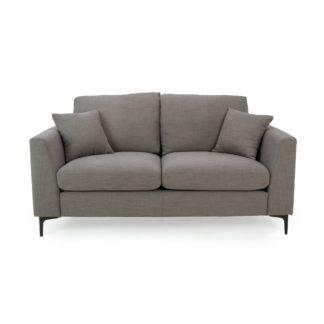 An Image of Edison 2 Seater Sofa - Charcoal Dark Grey