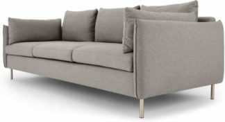 An Image of Vento 3 Seater Sofa, Manhattan Grey