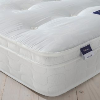 An Image of Silentnight Miracoil Travis Tufted Ortho Double Mattress