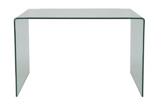 An Image of Habitat Gala Desk - Glass