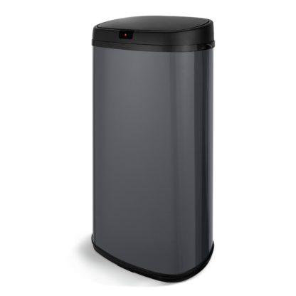 An Image of Tower 42 Litre Sensor Kitchen Bin - Grey