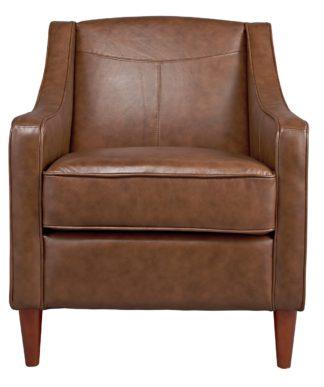 An Image of Habitat Dorian Faux Leather Armchair - Tan