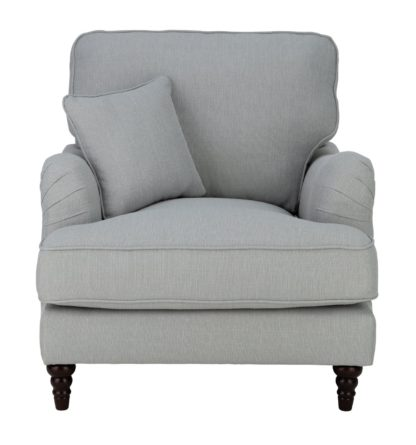 An Image of Habitat Matilda Fabric Armchair - Grey