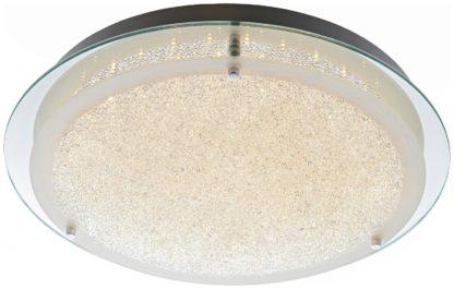 An Image of Argos Home Esmo Beaded Glass Flush Ceiling Light