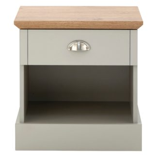 An Image of Kendal Bedside Table Grey