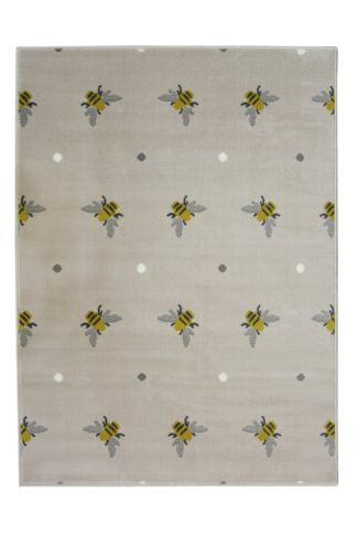An Image of Homemaker Adorn Busy Bee Rug - 80x150cm