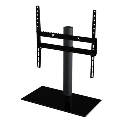 An Image of AVF Up To 55 Inch Tabletop Tilt and Turn TV Stand - Black