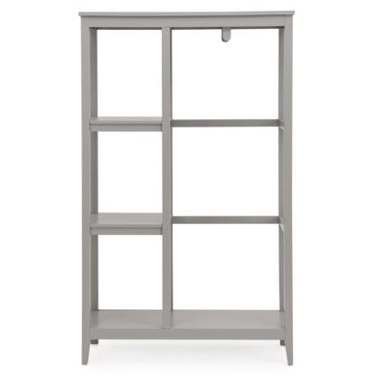 An Image of Lynton Compact Grey Open Wardrobe Grey