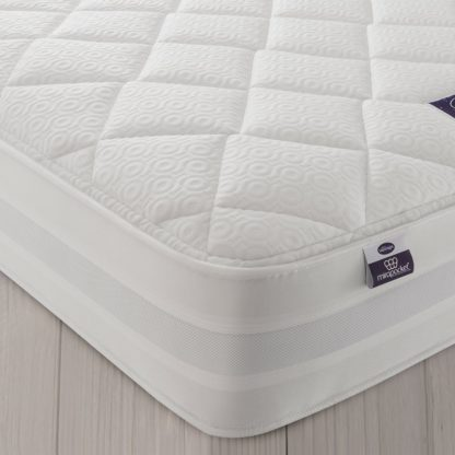 An Image of Silentnight Knightly 2000 Pocket Memory Double Mattress