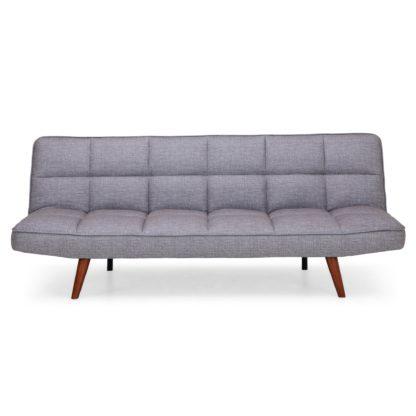An Image of Xander Colour Pop Clic Clac Sofa Bed - Grey Grey