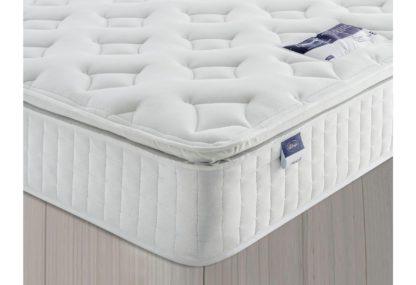 An Image of Silentnight Stanfield Sprung Pillowtop Double Mattress