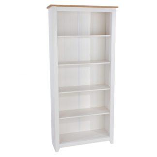 An Image of Capri Bookcase White