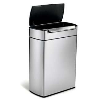 An Image of Simplehuman 48 Litre Touch Bar Recycling Bin