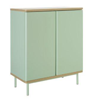 An Image of Habitat Freja 2 Door Cabinet - Green
