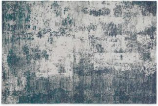 An Image of Genna Rug, Extra Large 200x300cm, Petrol Blue