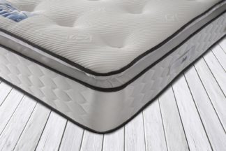 An Image of Sealy 1400 Pocket Sprung Pillowtop Memory Kingsize Mattress
