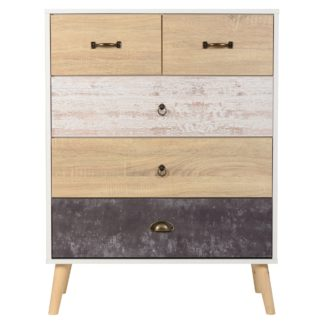 An Image of Nordic Chest of Drawers White