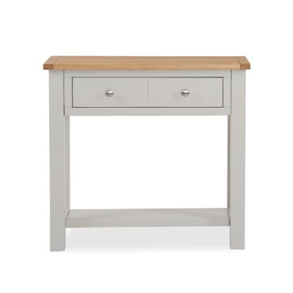 An Image of Bromley Grey Console Table Grey