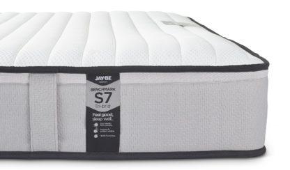 An Image of Jay-Be Benchmark S7 Tri-brid Eco Friendly King Mattress