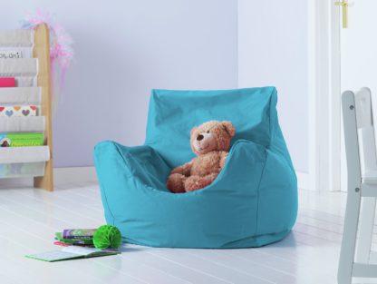 An Image of Argos Home Kids Funzee Pink Bean Bag Chair