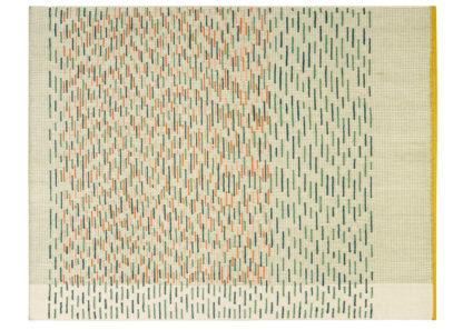 An Image of Gandia Blasco Backstitch Busy Rug in Green 200 x 300cm